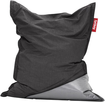 housse jacket pour pouf the original gris fonc fatboy. Black Bedroom Furniture Sets. Home Design Ideas