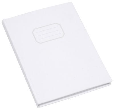 Cahier de coton L'atelier d'exercices blanc en tissu