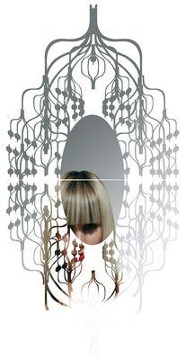 Furniture - Mirrors - Spline self-sticking mirror - Sticker by Domestic -  - Plastic material