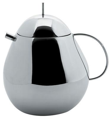 Tableware - Tea & Coffee Accessories - Fruit basket Teapot by Alessi - Steel - Stainless steel