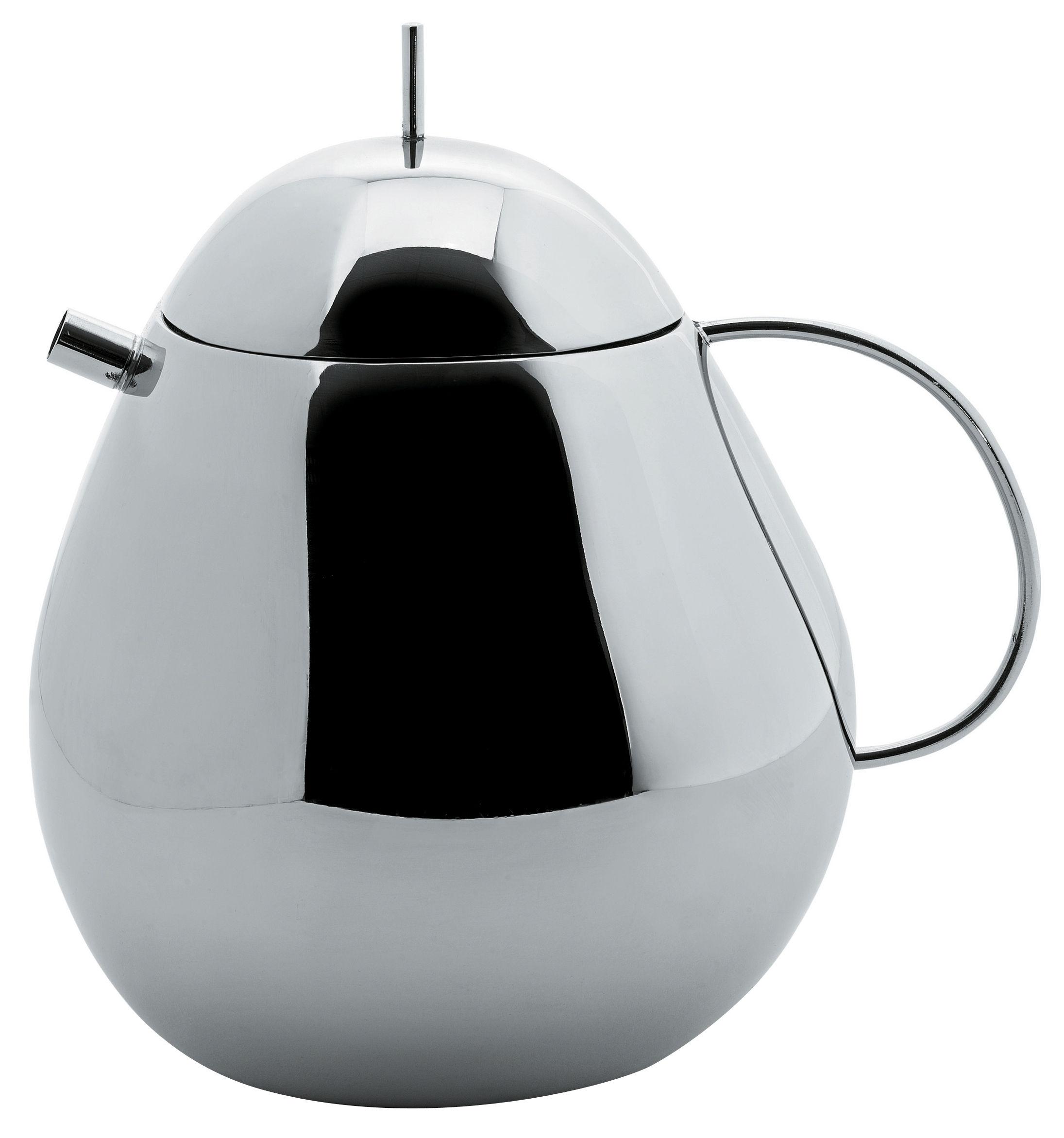 fruit basket teapot steel by alessi - zoom