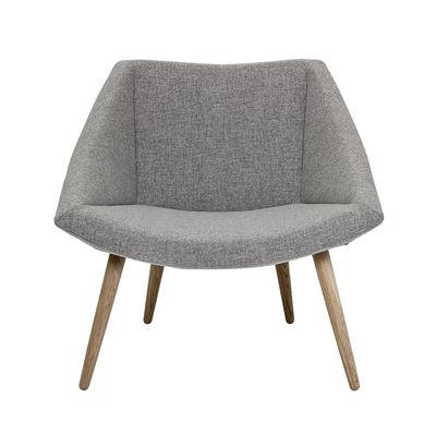 Furniture   Armchairs   Elegant Chair Padded Armchair   / Wool U0026 Oak By  Bloomingville