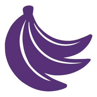 Dessous de plat Banane / Métal - Fermob aubergine en métal