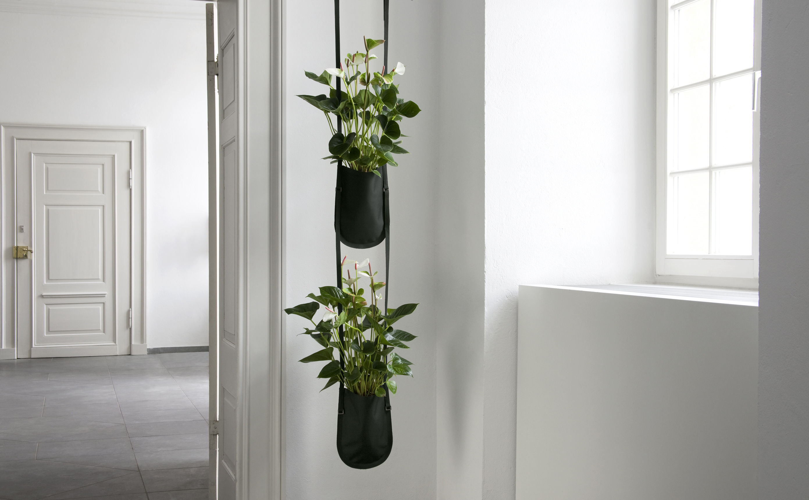 urban garden bag hanging pot plant bag to hang 1 litre