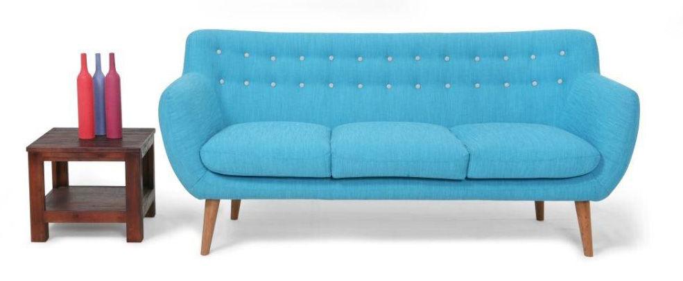 Scopri divano destro coogee 3 posti blu hawa grigio - Divano grigio perla ...