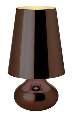 lampe de table cindy bronze kartell. Black Bedroom Furniture Sets. Home Design Ideas