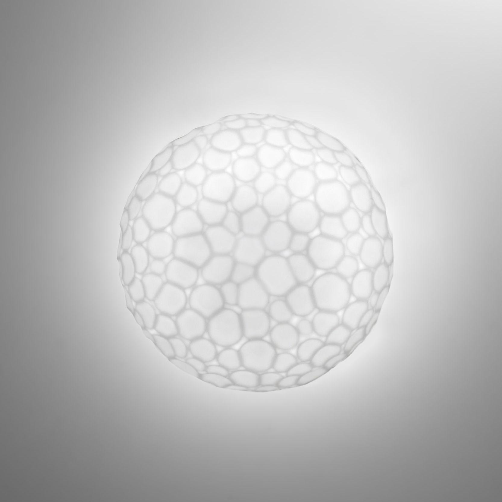 applique meteorite plafonnier 15 cm 15 cm blanc. Black Bedroom Furniture Sets. Home Design Ideas