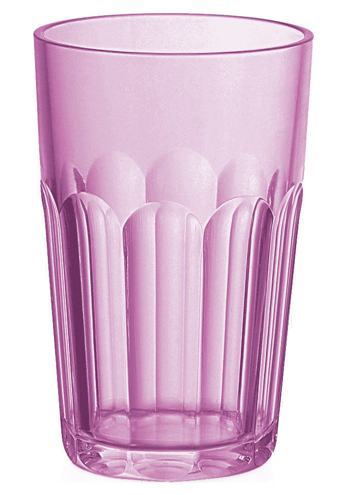 Scopri bicchiere da acqua happy hour lampone di guzzini for Acqua design italia