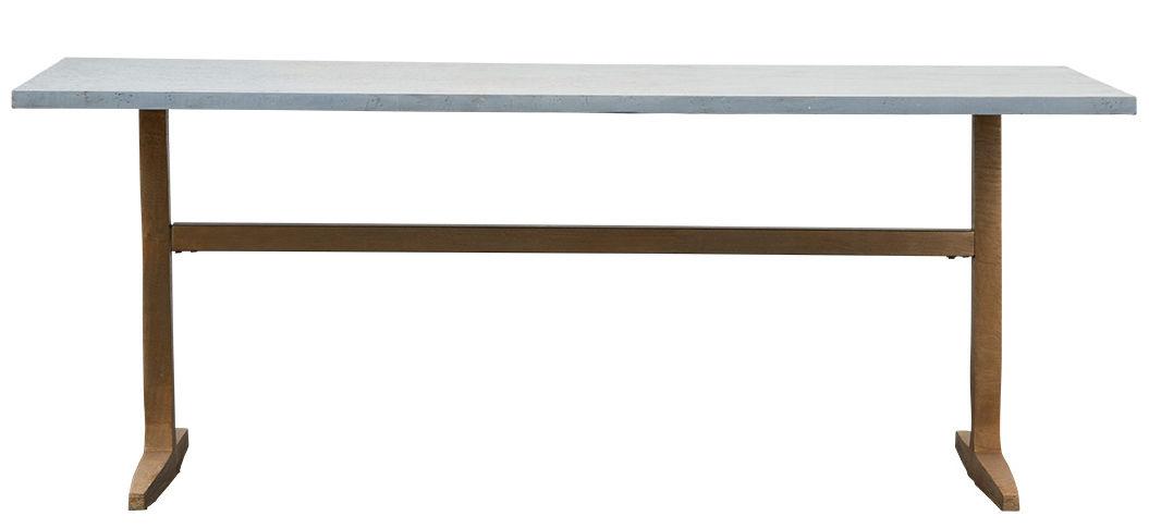 zinc 80 x 200 cm zink fu gestell aluminium house. Black Bedroom Furniture Sets. Home Design Ideas