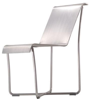 Furniture - Chairs - Superlight Chair Chair - Aluminium by Emeco - Brushed aluminium - Aluminium