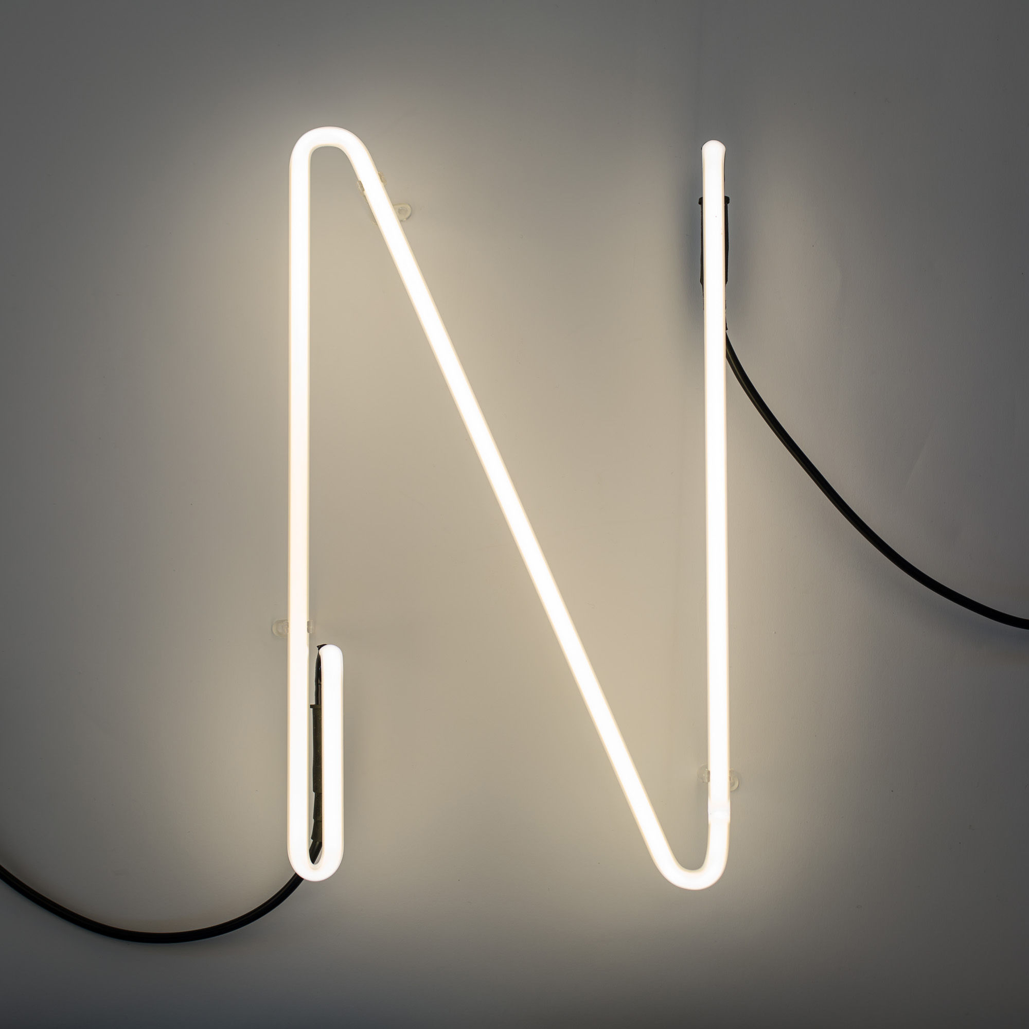 n on alphafont wall light with plug letter n n by seletti. Black Bedroom Furniture Sets. Home Design Ideas