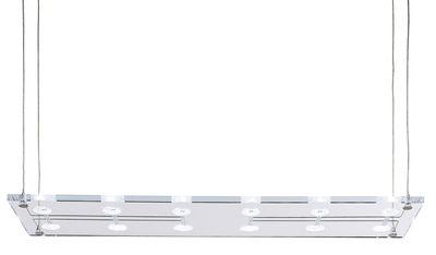 Luminaire - Suspensions - Suspension Sospesa - Fabbian - Verre transparent - Verre