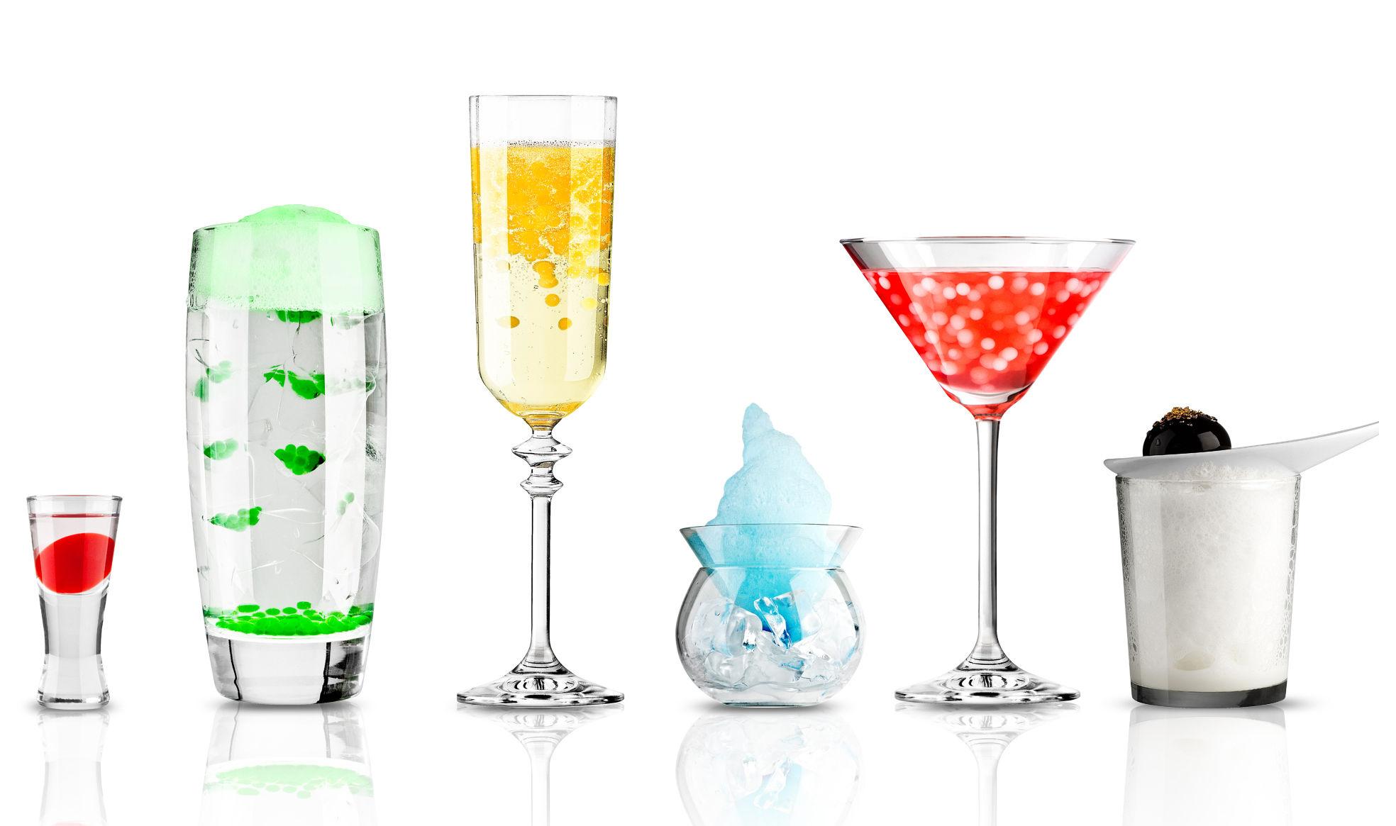 Kit cuisine mol culaire cocktail r volution cocktails - Cocktail cuisine moleculaire ...