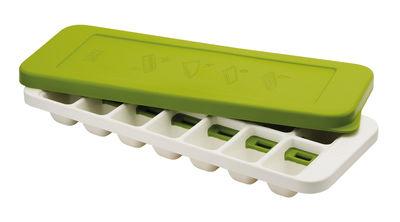 Bac à glaçons QuickSnap Plus Couvercle Extraction facile Joseph Joseph blanc,vert en matière plastique
