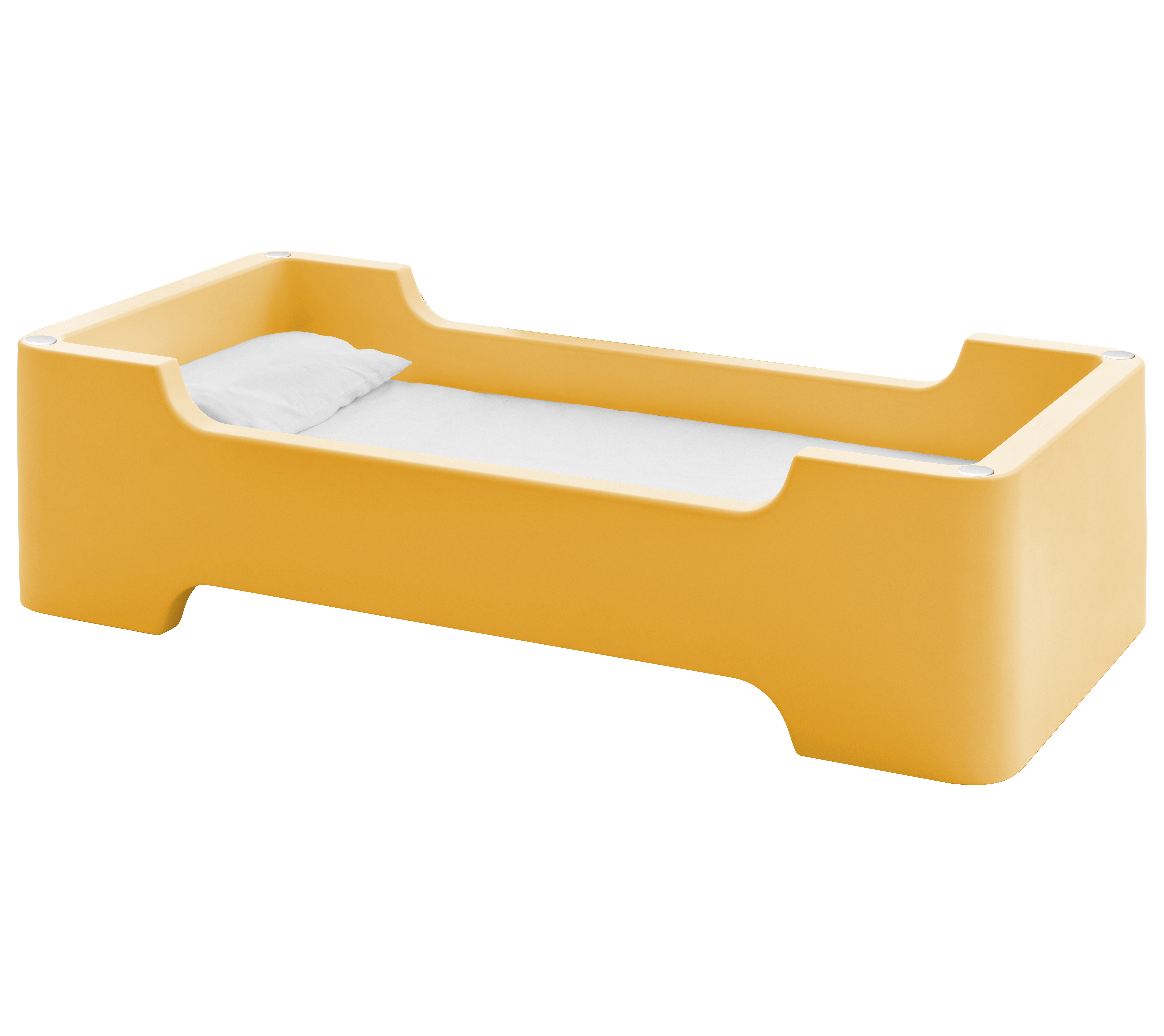 lit enfant bunky module 1 place 81 x 171 cm orange clair magis collection me too. Black Bedroom Furniture Sets. Home Design Ideas