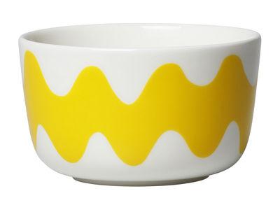 Bol Oiva Lokki / Ø 9,5 cm - Marimekko blanc,jaune en céramique