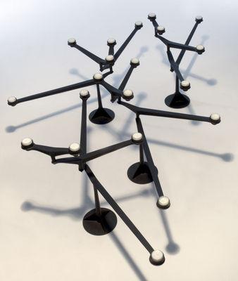 chandelier spin noir tom dixon. Black Bedroom Furniture Sets. Home Design Ideas