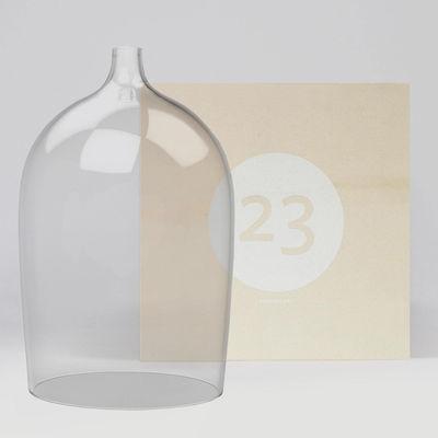 Déco - Objets déco et cadres-photos - Coffret Designerbox#23 / Cloche en verre Nippy - Piergil Fourquié - Designerbox - Transparent / Coffret bois - Verre soufflé bouche