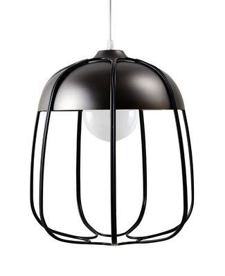 Suspension Tull / Ø 36 x H 40 cm - Incipit Noir,Nickel noir en Métal
