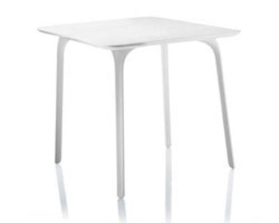 First Tisch Quadratisch – für den Innenraum - Magis - Weiß
