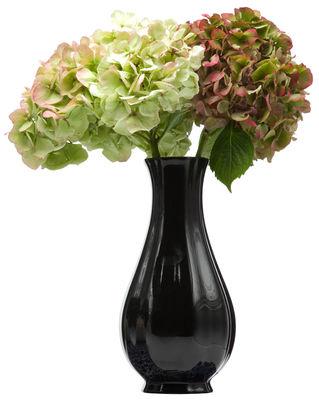 Decoration - Vases - Delft Blue 10-3 Vase by Moooi - Black - China