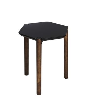 Table d'appoint Lexy Bois 35 x 38 cm Umbra noir,noyer en bois