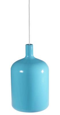 Suspension Bulb - Bob design bleu en matière plastique