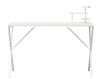 Bureau Tray / Métal - L 120 cm - House Doctor blanc en métal