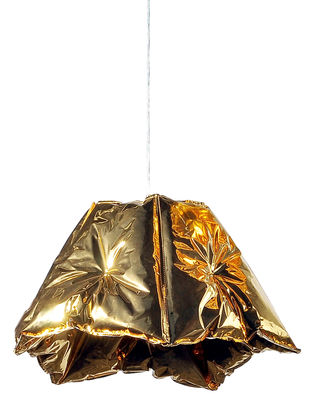 Luminaire - Suspensions - Suspension Dent / Gonflable - Ø 80 cm - Innermost - Or - Polyéthylène