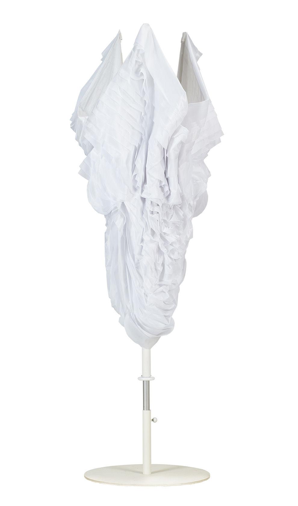 twister parasol 250 x 250 cm blanc by sywawa. Black Bedroom Furniture Sets. Home Design Ideas