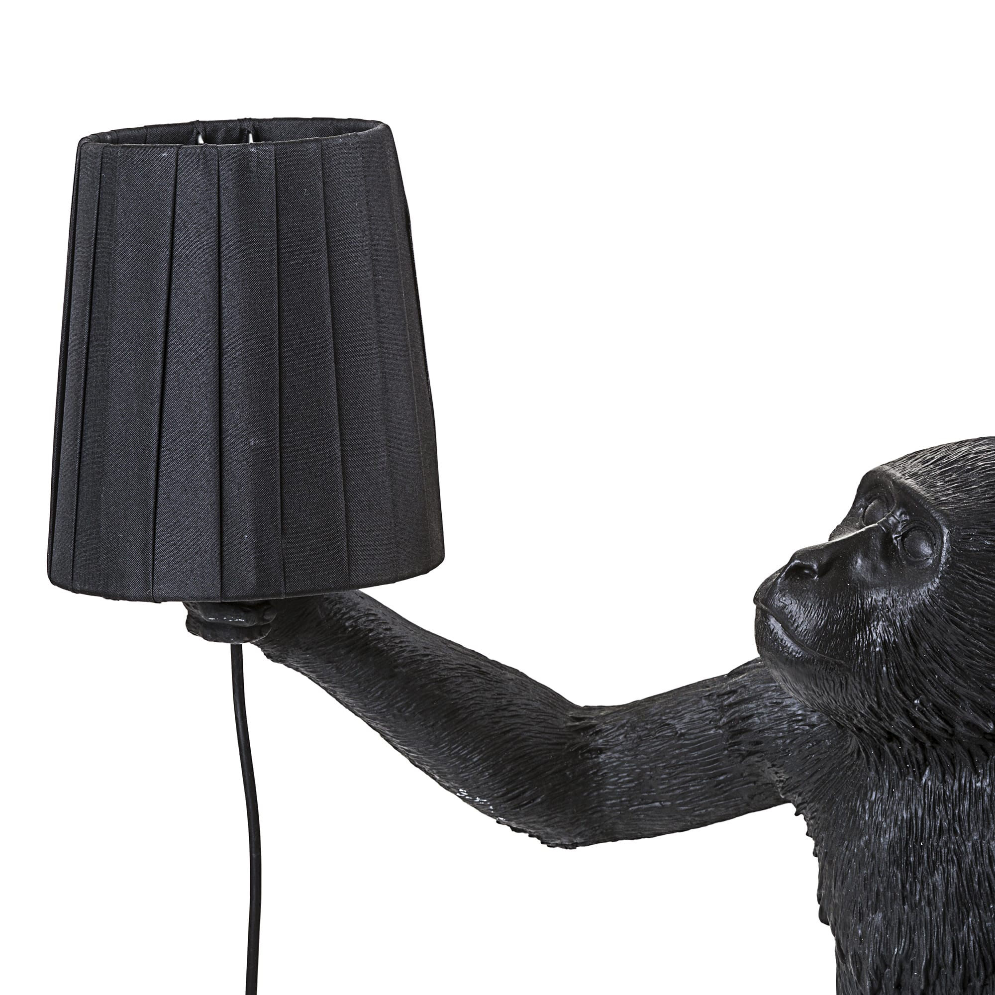 stoff f r lampen monkey seletti lampenschirm. Black Bedroom Furniture Sets. Home Design Ideas
