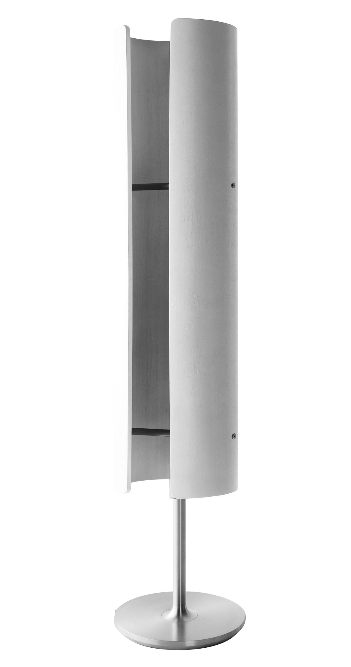 radiateur totem infrarouge et mobile h 122 cm ch ne teint blanc i radium. Black Bedroom Furniture Sets. Home Design Ideas