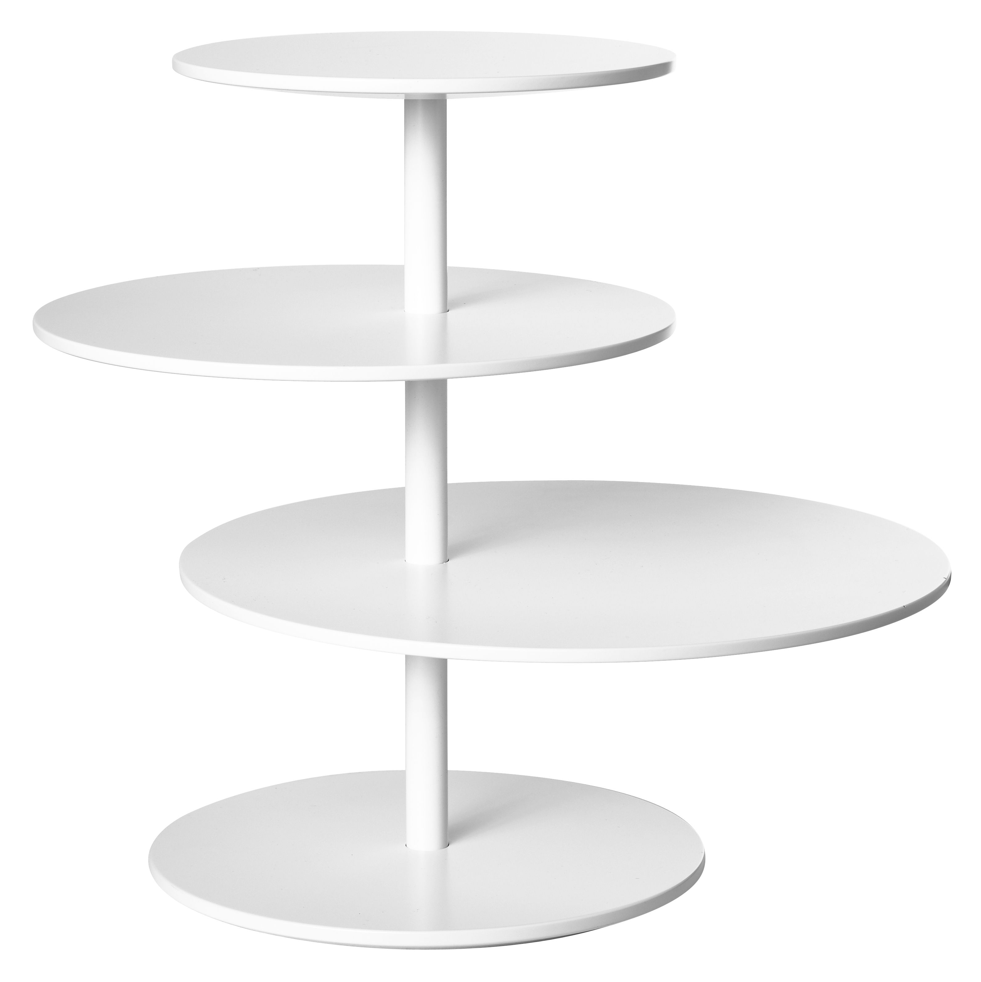 Twist Coffee Table Swiveling Table Top White By Design