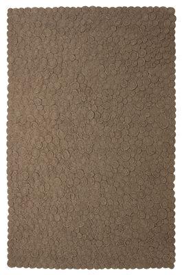 Furniture - Carpets - Spiral Rug - 170 x 240 cm by Nanimarquina - Brown / 170 x 240 cm - Wool