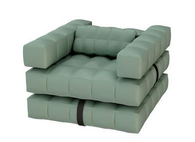 fauteuil gonflable modul 39 air bain de soleil flottant convertible olive pigro felice. Black Bedroom Furniture Sets. Home Design Ideas