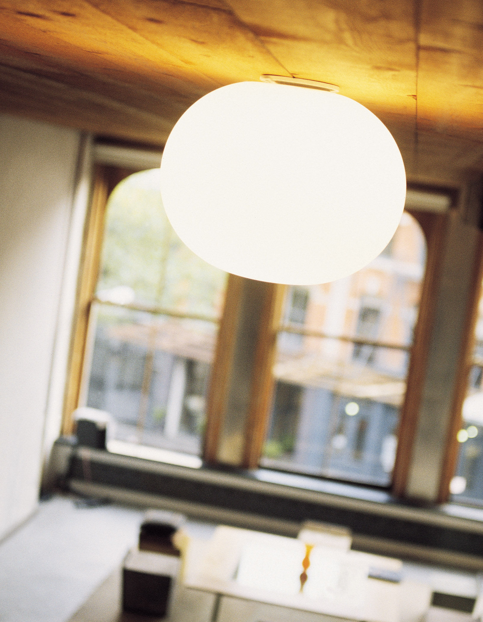 Mini Glo-Ball Wall light - Ceiling light White by Flos | Made In ...