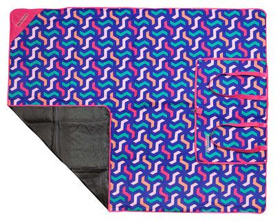 Jardin - Déco et accessoires - Couverture de pique-nique Wategos / 140 x 175 cm - Sunnylife - Wategos / Multicolore - Tissu polyester