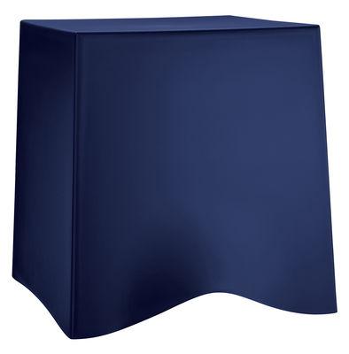 Tabouret empilable Briq / Plastique - Koziol bleu marine en matière plastique