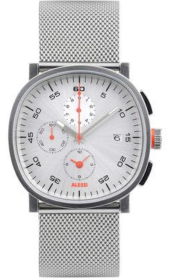 Montre Tic15 Chronographe Bracelet acier Alessi Watches argent,acier en métal