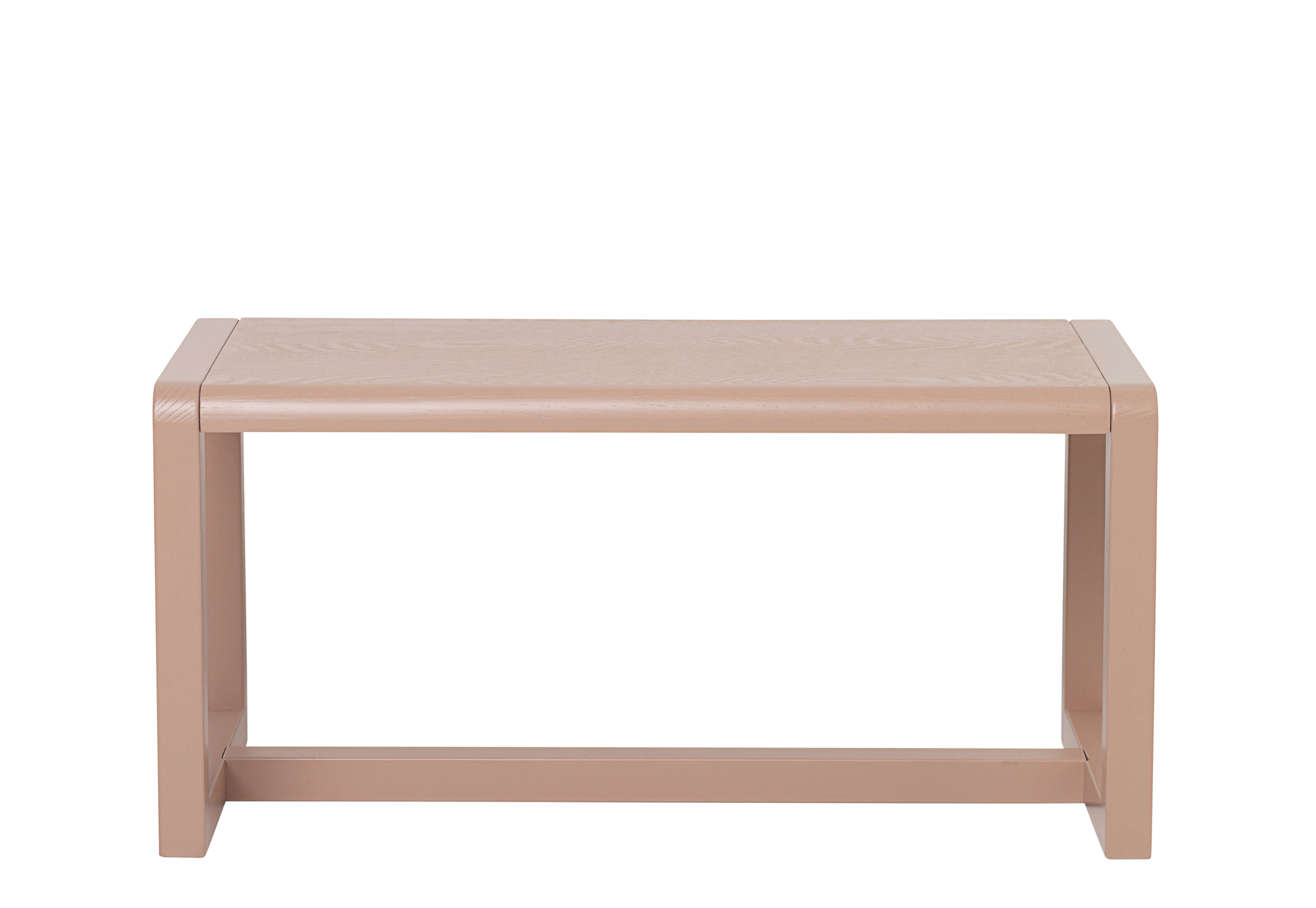 banc enfant little architect bois l 62 cm rose ferm living. Black Bedroom Furniture Sets. Home Design Ideas