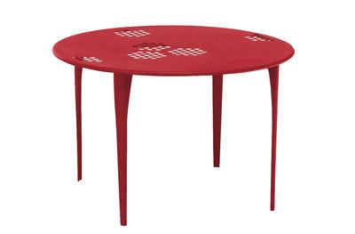 Pattern Tisch Ø 117 cm - Emu - Rot