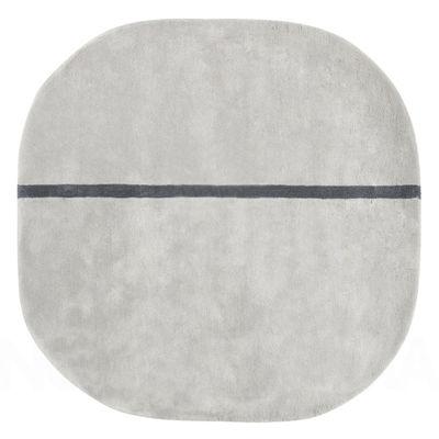 Tapis Oona - 140 x 140 cm - Normann Copenhagen gris en tissu