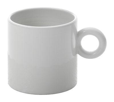 Tasse à café Dressed - Alessi blanc en céramique