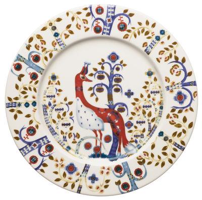 Arts de la table - Assiettes - Assiette à dessert Taika / Ø 22 cm - Iittala - Blanc - Céramique