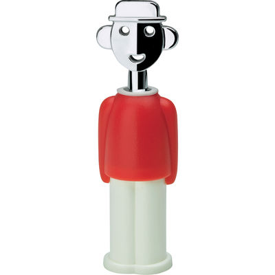 Déco - Objets déco et cadres-photos - Magnet Alessandro M - A di Alessi - Rouge & Blanc - Résine thermoplastique