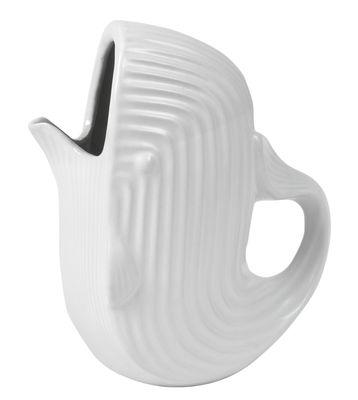 Arts de la table - Carafes et décanteurs - Carafe Whale / 204 cl - Jonathan Adler - Blanc - Grès