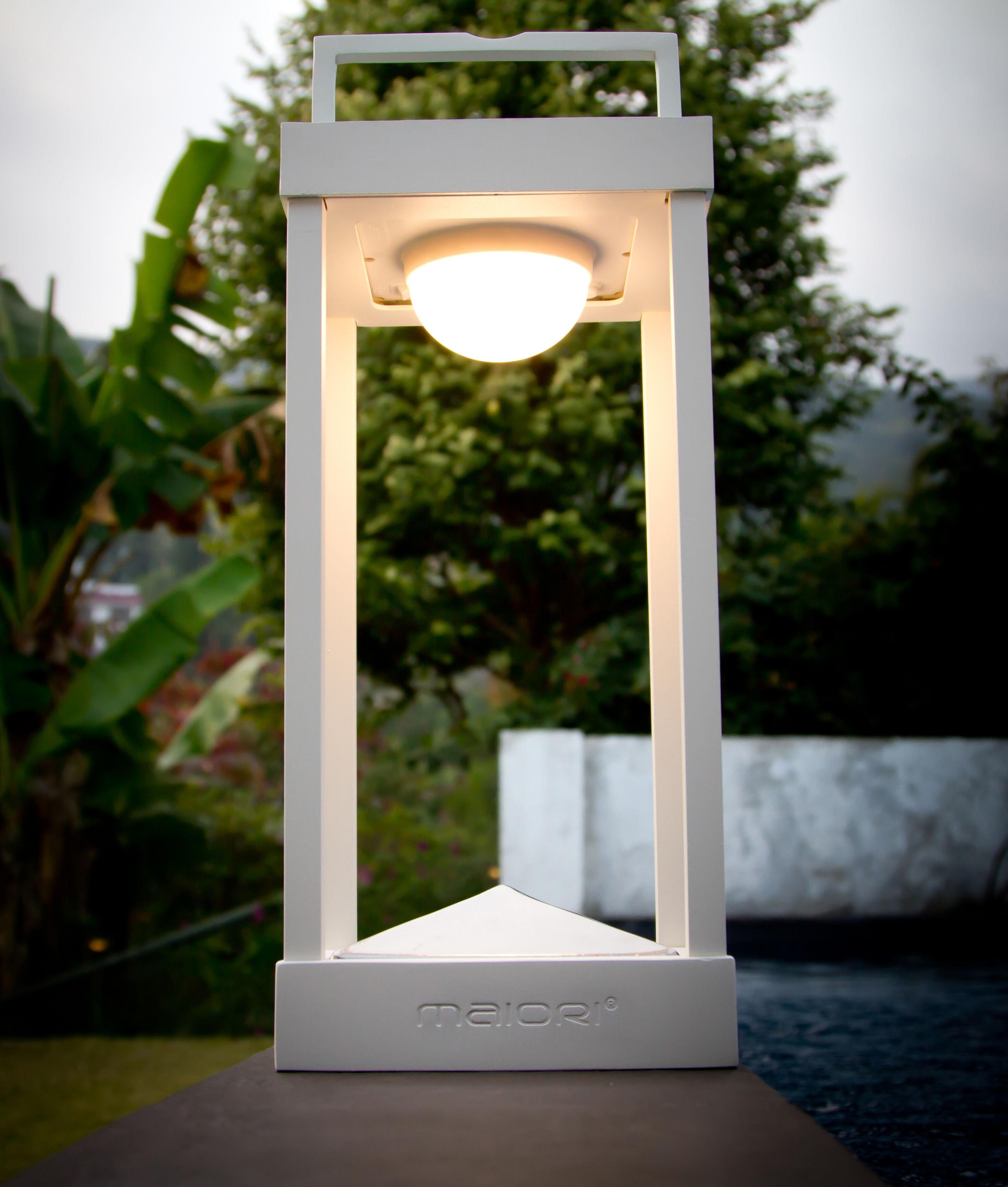 Lampe Solaire La Lampe Parc L Led Sans Fil H 50 Cm
