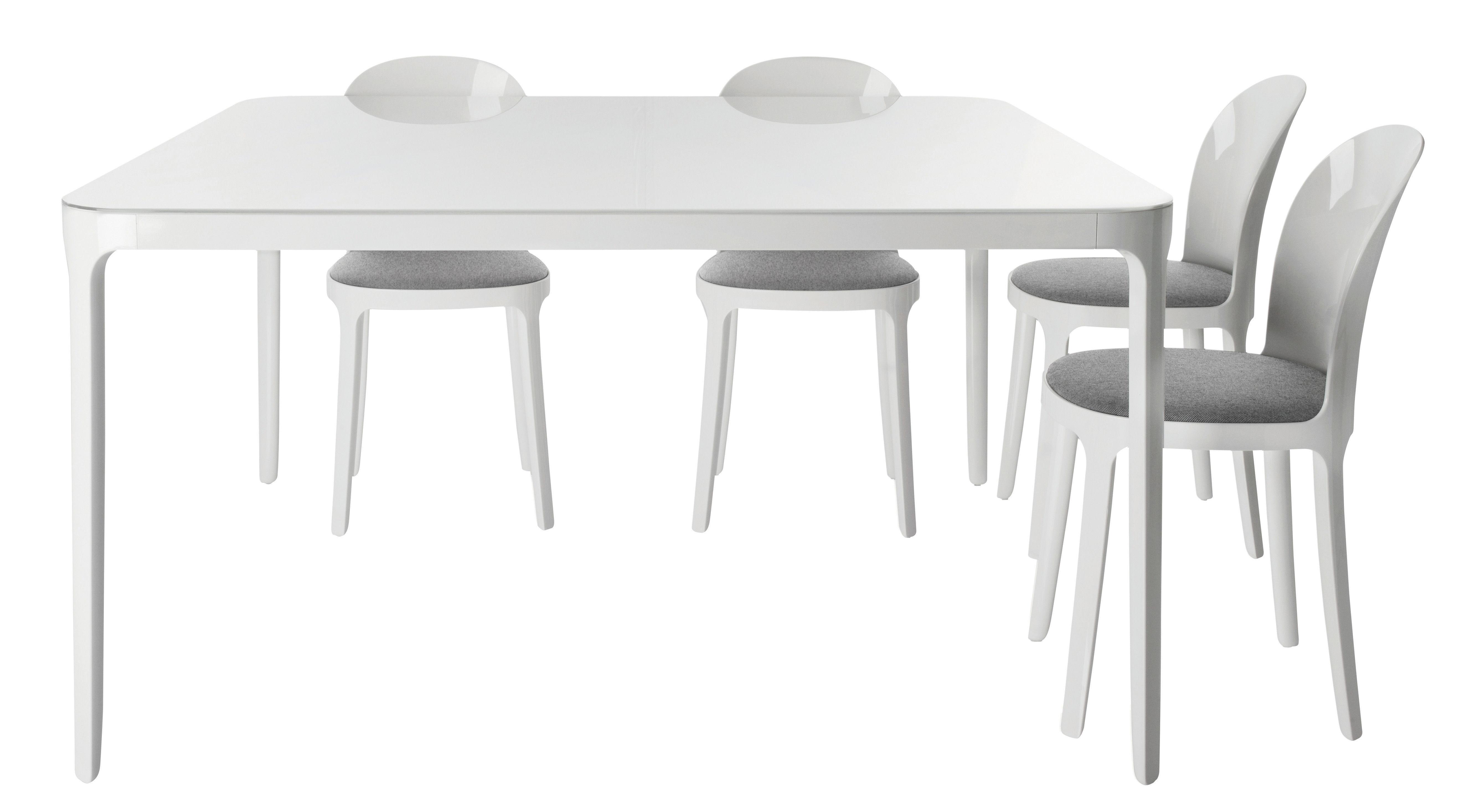 Vanity quadratisch 90 x 90 cm magis tisch for Design tisch quadratisch