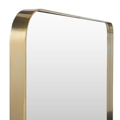 Hector wall mirror 121 x 141 cm gold by maison sarah lavoine - Miroir sarah lavoine ...