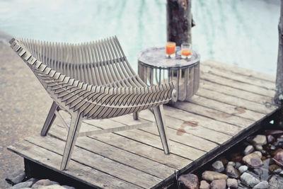fauteuil bas manta stratifi int rieur ext rieur bois naturel ibride. Black Bedroom Furniture Sets. Home Design Ideas